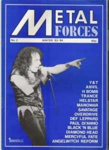 Portada de Metal Forces #2 (1983-1984)