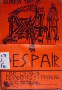 DEATH + DESPAIR, 23 de febrero, 1989