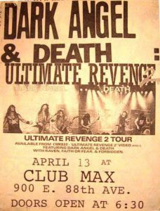 Ultimate Revenge Tour flyer