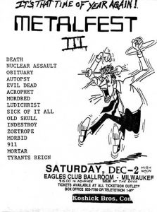 Milwaukee Metal Fest (1989)