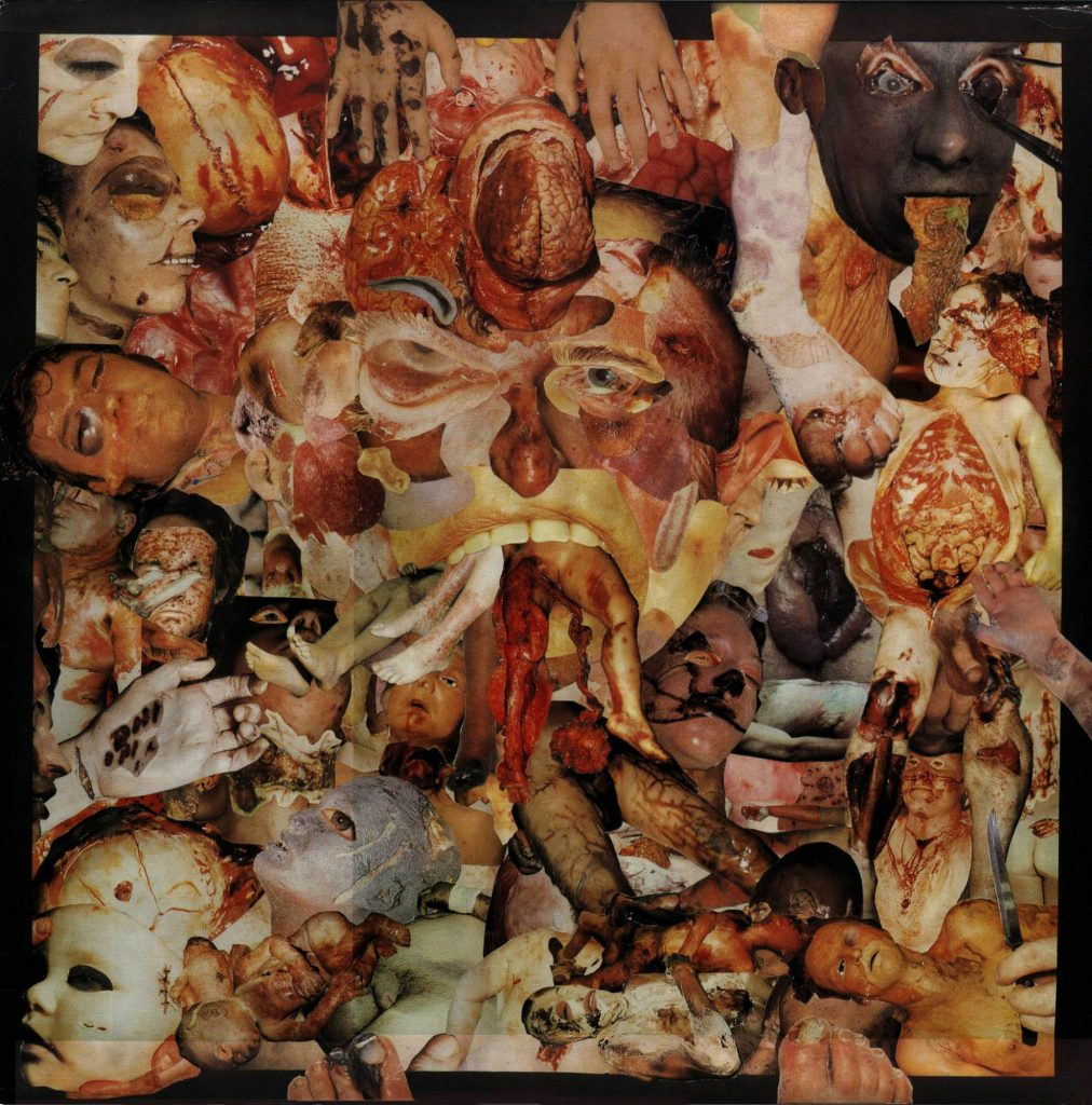 Carcass - «Reek of Putrefaction» [carátula original]